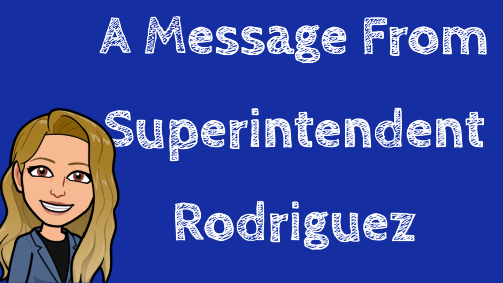A Message From Mrs. Rodriguez