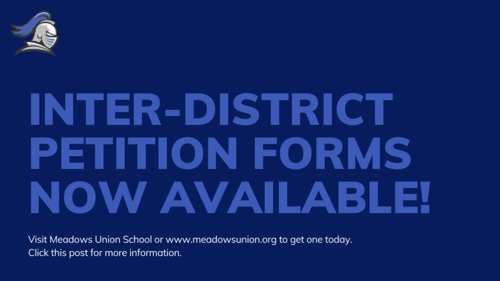 Inter-District Petition Forms Now Available!